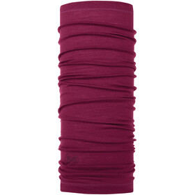 Buff Merino Wool Denim Neckwarmer solid purple raspberry
